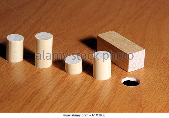 how to put square peg in round hole