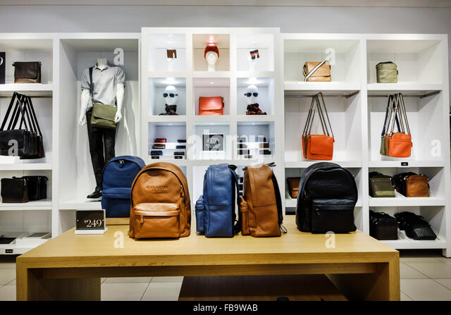 coach bags in outlet stores ppu6  Florida Ellenton Premium Outlets Off 5th Sacks Fifth Avenue Outlet shopping  inside fashion sale display Coach