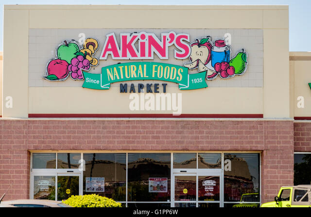 Akin S Natural Foods Market