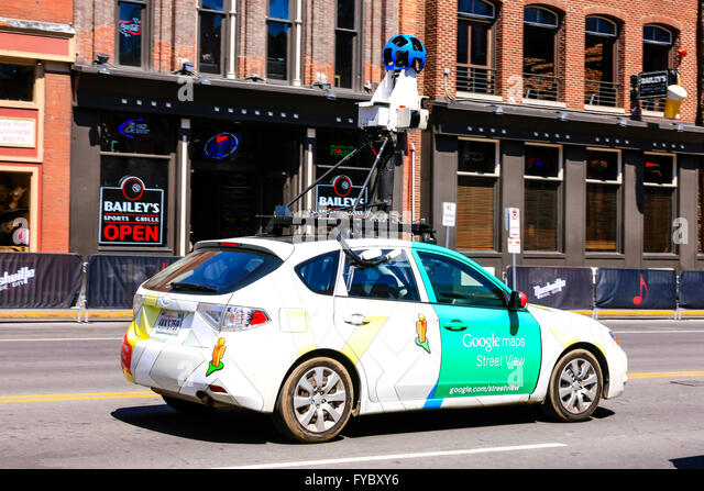 Google Maps And Car Stock Photos Google Maps And Car Stock - Map of nashiville us google maps