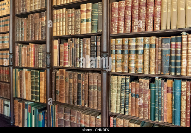 Old Book Shelf Stock Photos Old Book Shelf Stock Images Alamy - Old book case