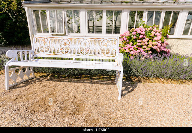 Cast Iron Garden Bench Stock Photos Cast Iron Garden Bench Stock