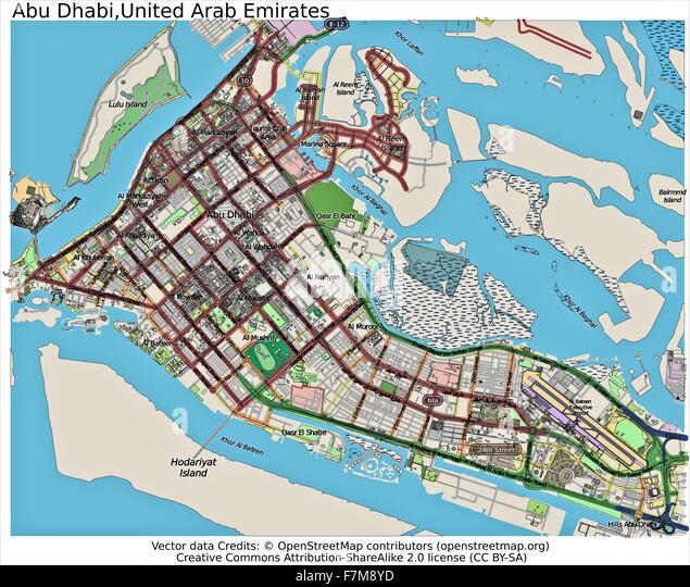 Maps Update 800743 Map of Abu Dhabi Abu Dhabi Map City Map of – Abu Dhabi Map