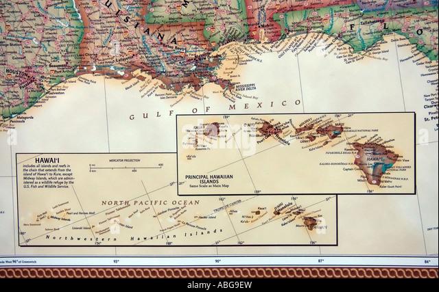 Gulf States Map Stock Photos Gulf States Map Stock Images Alamy - Map of gulf states usa