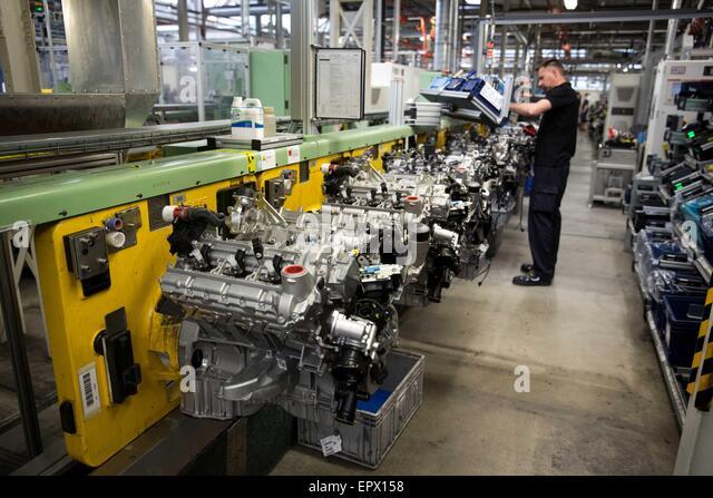Mercedes benz plant in berlin stock photos mercedes benz for Mercedes benz plant locations