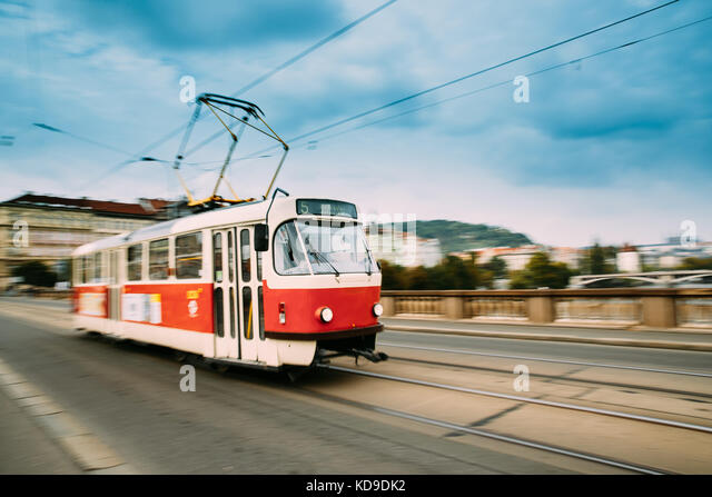 old tram prague street - photo #40