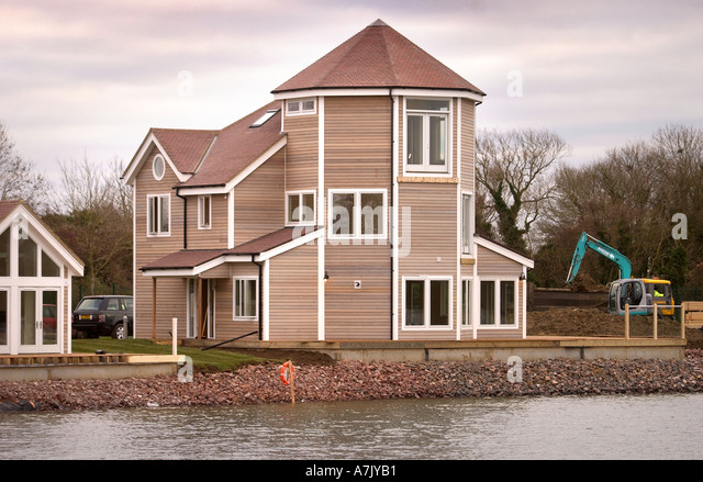 Gloucestershire south cerney stock photos for New england kit homes