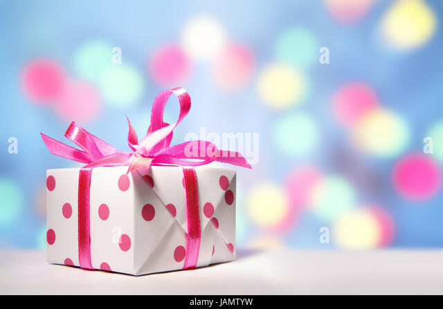 Schön Gift Package,white Pink,background Lights,Christmas,Valentinstag,birthday,