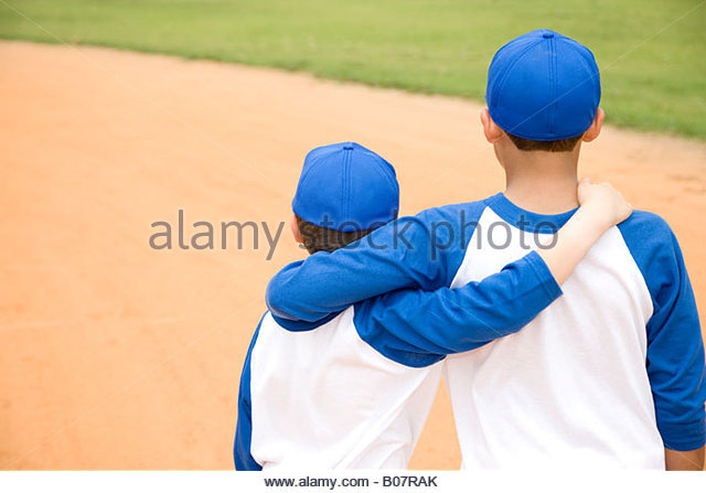 Two Boys Arms Around Each Other Stock Photos & Two Boys ...