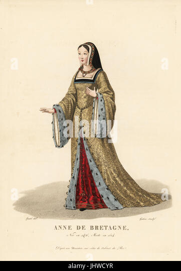 Anne of Britanny wife to King Charles VIII and King Louis XII of France  sc 1 st  Alamy & Anne Marie De Stock Photos u0026 Anne Marie De Stock Images - Alamy
