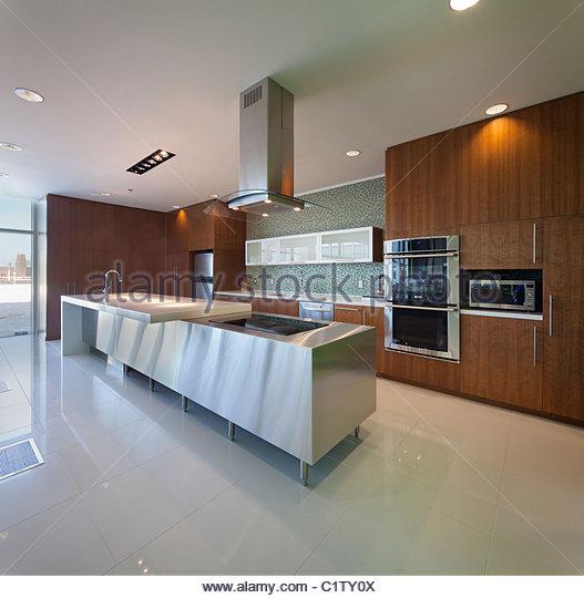 Office Corporate Architecture Kitchen Stock Photos