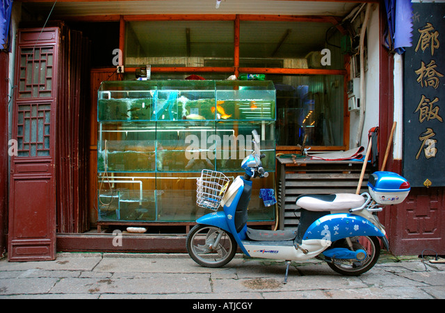 Scooter store china stock photos scooter store china for Motor scooter store near me