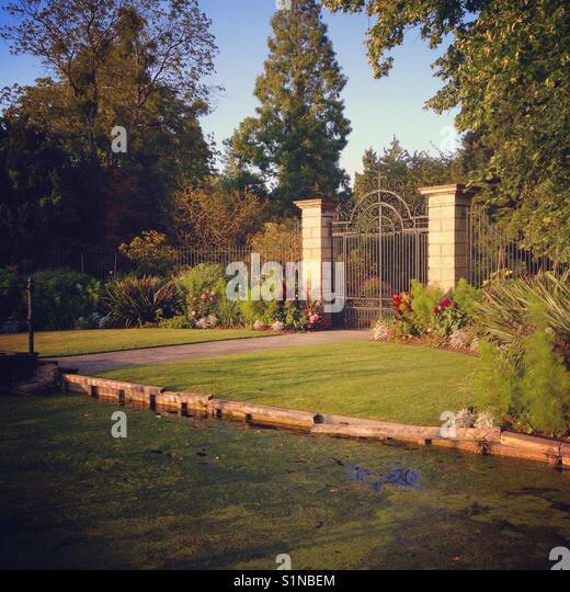 Cambridge Botanical Gardens Stock Photos Cambridge