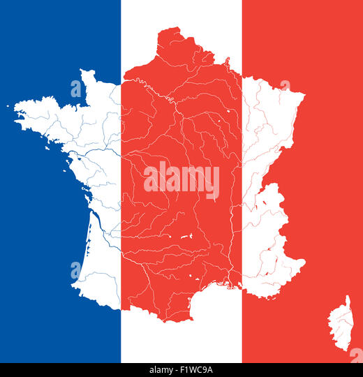 France Map Outline Stock Photos  France Map Outline Stock Images