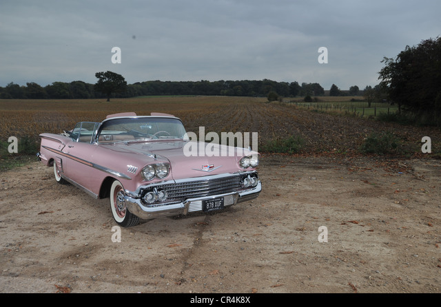 1958 chevrolet stock photos 1958 chevrolet stock images for Classic american convertibles