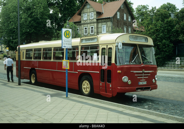 buessing bus for stock photos buessing bus for stock images alamy. Black Bedroom Furniture Sets. Home Design Ideas