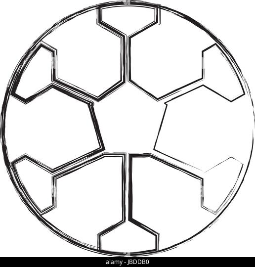 soccer sketch black and white stock photos images alamy