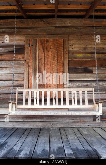 Porch swing nobody stock photos porch swing nobody stock for Old porch swing