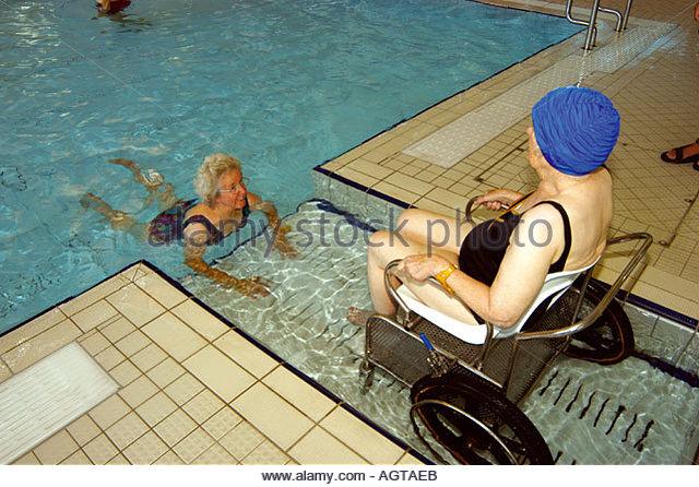 Council swimming pool stock photos council swimming pool - The strand swimming pool gillingham ...