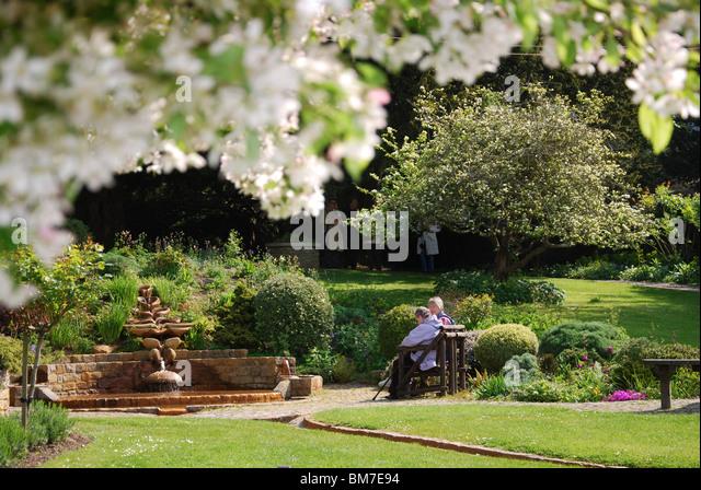 Chalice Well Gardens Stock Photos Chalice Well Gardens