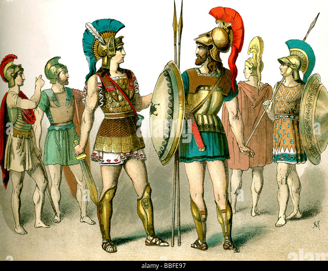 ancient greek soldiers stock photos amp ancient greek