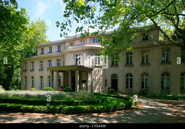 House of the wannsee conference berlin wannsee berlin stock image