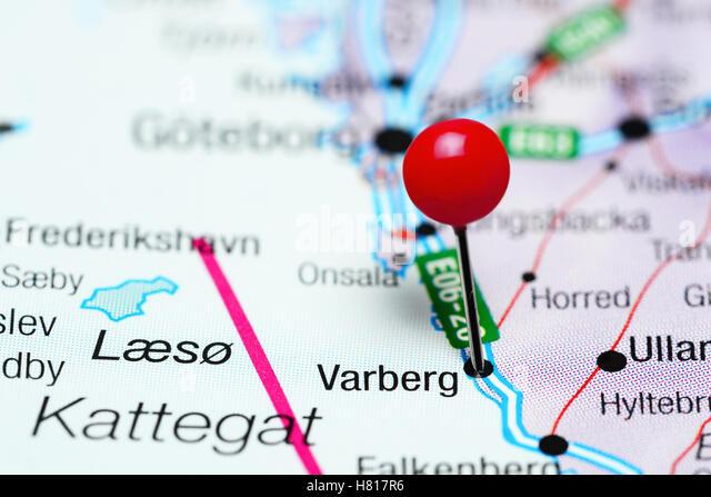 Sweden Varberg Stock Photos Sweden Varberg Stock Images Alamy - Varberg sweden map