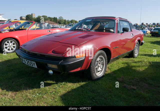 British Sportscars Stock Photos British Sportscars Stock Images - British sports cars 70s