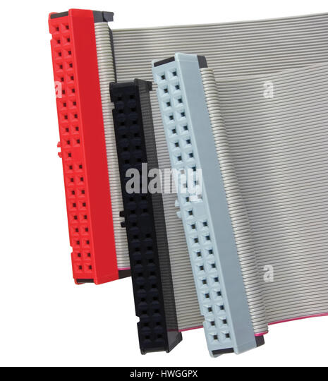 Computer Ribbon Cable : Ribbon cable stock photos images alamy