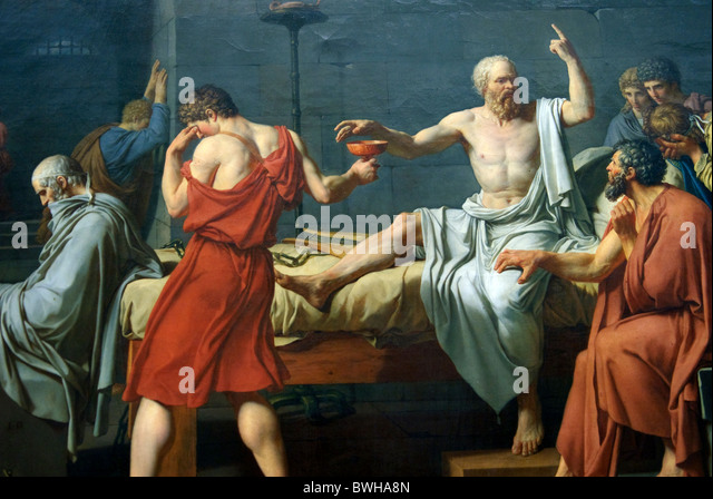 jacques louis davids portrayal of the death of socrates Jacques-louis david 159 angelica  works of art from different cultures reveal common human experiences of birth and death, love  an introduction to the h.