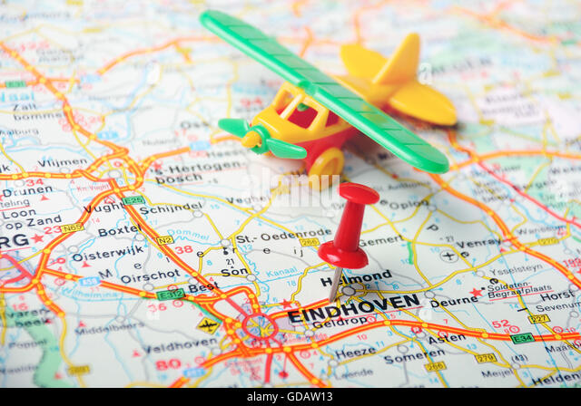 Eindhoven Airport Eindhoven Netherlands Europe Stock Photos