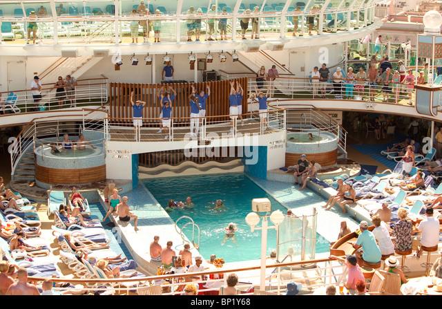 Cruise Ship Pool Party Stock Photos Cruise Ship Pool Party Stock - Cruise ship party