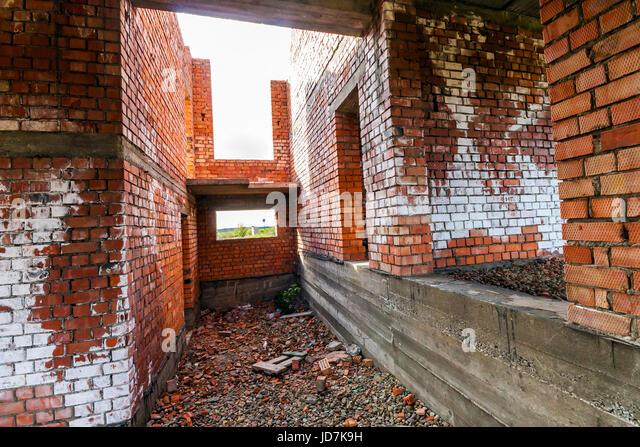 Interior New Building Under Construction Stock Photos & Interior ...