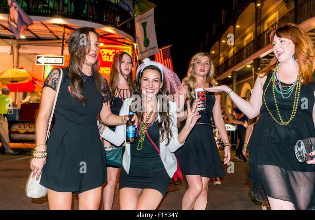 orleans bourbon girls New street