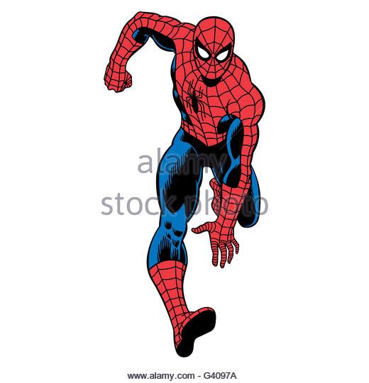 Spiderman cartoon standing - photo#21
