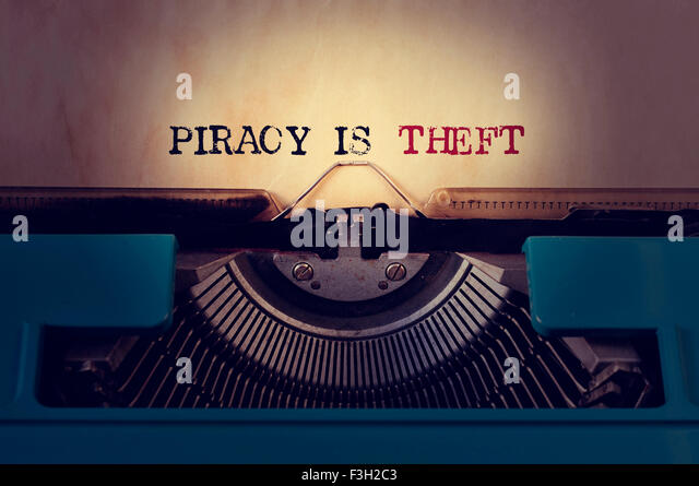 piracy or theft Piracy is illegal because it is copyright infringement, which is the unauthorized distribution of copyrighted materials also, if you're talking about internet piracy or software piracy, that is not theft/stealing the reason why is because file sharing doesn't steal the copyrighted material.