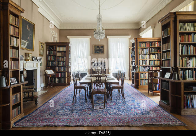 The Library At Killerton Devon This Room Was Turned Into During