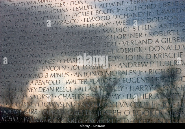 maya ying lin designed the vietnam veterans memorial known as the wall listing the names of - Who Designed The Vietnam Wall