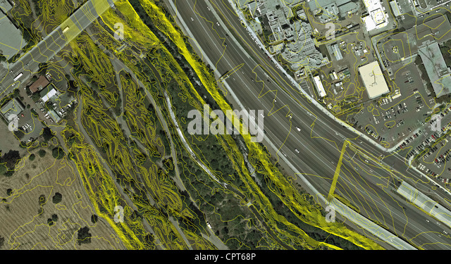 Aerial Above San Jose California Stock Photos Aerial Above San