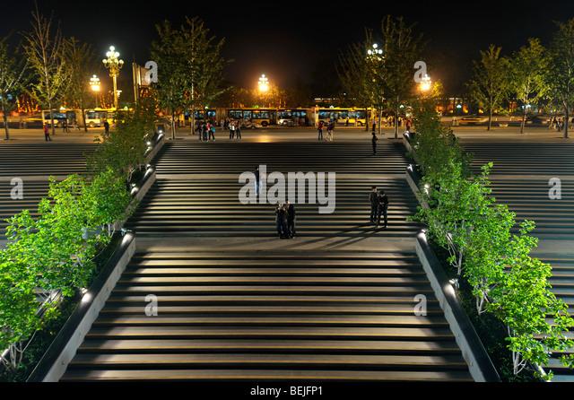 Stairways stock photos stairways stock images alamy for Beijing opera house architect