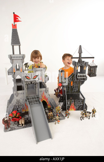 Germany Building Toys For Boys : Toy castle stock photos images alamy