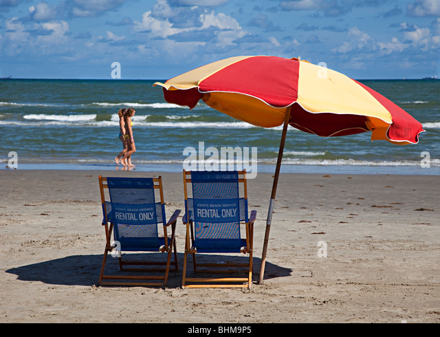 Beach Umbrella Rental Galveston