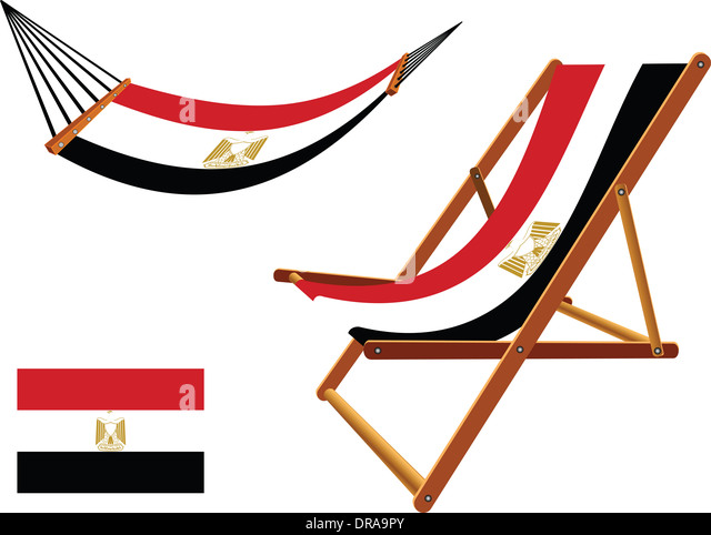 Congo Republic flag hammock and deck chair Vector Image #31095 ...