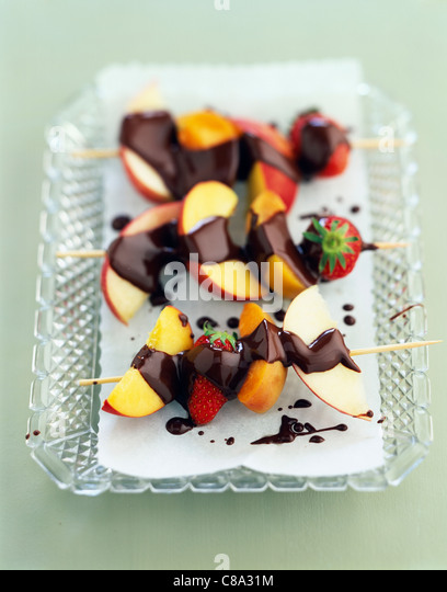 Fruit Skewers Stock Photos & Fruit Skewers Stock Images ...