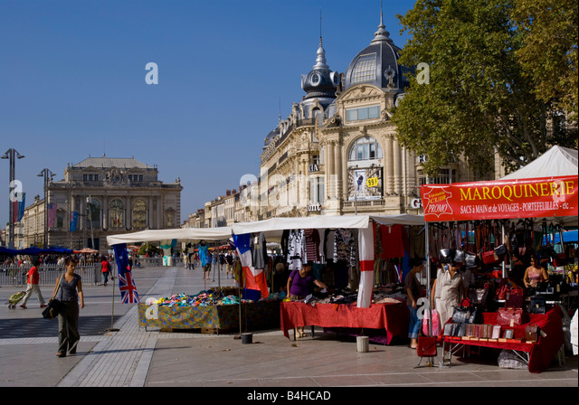 France montpellier herault languedoc roussillon market stock photos france montpellier herault - Carrefour market port marianne montpellier ...