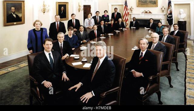 Marvelous Bill Clinton Portrait Stock Photos