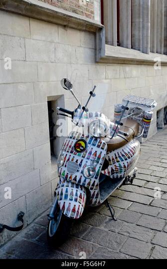 Motor Scooter Display Stock Photos Motor Scooter Display