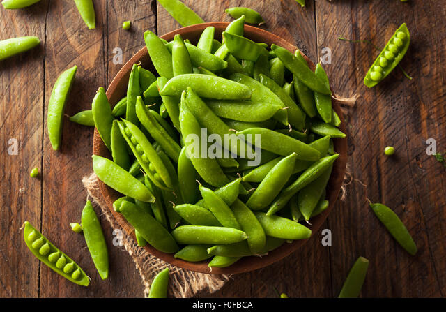 how to eat sugar snap peas raw