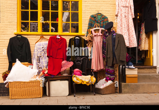Vintage Clothing Shops Stock Photos & Vintage Clothing Shops Stock ...