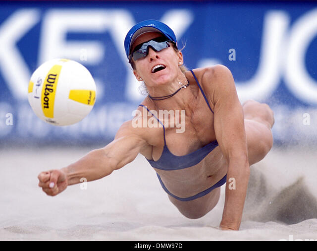 jun 07 2002 hermosa beach ca usa holly mcpeak at the